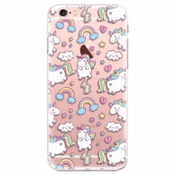 Plastové pouzdro iSaprio - Unicorn pattern 02 - iPhone 6 Plus/6S Plus
