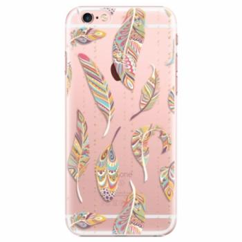 Plastové pouzdro iSaprio - Feather pattern 02 - iPhone 6 Plus/6S Plus