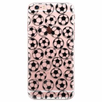 Plastové pouzdro iSaprio - Football pattern - black - iPhone 6 Plus/6S Plus