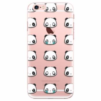 Plastové pouzdro iSaprio - Panda pattern 01 - iPhone 6 Plus/6S Plus