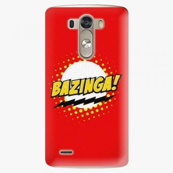 Plastový kryt iSaprio - Bazinga 01 - LG G3 (D855)