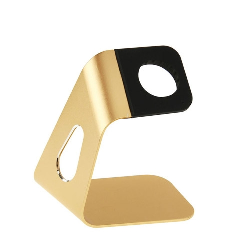 Hliníkový nabíjecí stojánek Simple pro Apple Watch 38mm / 42mm zlatý