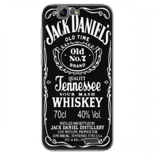 Plastové pouzdro iSaprio - Jack Daniels - Huawei Ascend G7