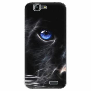 Plastové pouzdro iSaprio - Black Puma - Huawei Ascend G7