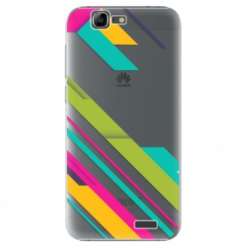 Plastové pouzdro iSaprio - Color Stripes 03 - Huawei Ascend G7
