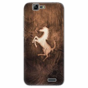 Plastové pouzdro iSaprio - Vintage Horse - Huawei Ascend G7