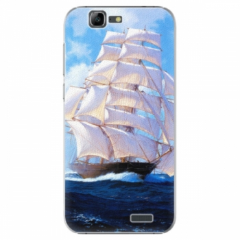 Plastové pouzdro iSaprio - Sailing Boat - Huawei Ascend G7