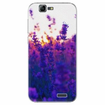 Plastové pouzdro iSaprio - Lavender Field - Huawei Ascend G7