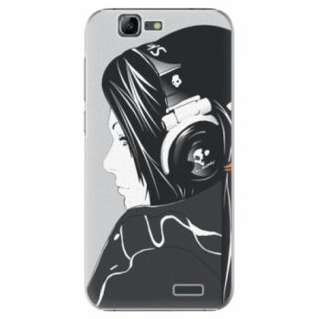Plastové pouzdro iSaprio - Headphones - Huawei Ascend G7