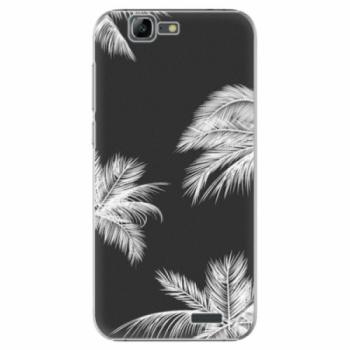 Plastové pouzdro iSaprio - White Palm - Huawei Ascend G7