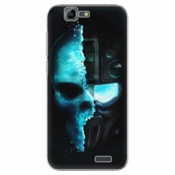 Plastové pouzdro iSaprio - Roboskull - Huawei Ascend G7