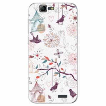 Plastové pouzdro iSaprio - Birds - Huawei Ascend G7