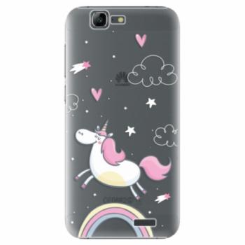 Plastové pouzdro iSaprio - Unicorn 01 - Huawei Ascend G7