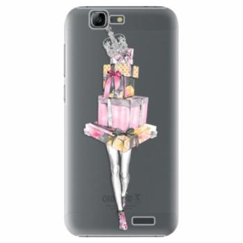 Plastové pouzdro iSaprio - Queen of Shopping - Huawei Ascend G7