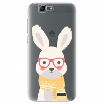 Plastové pouzdro iSaprio - Smart Rabbit - Huawei Ascend G7