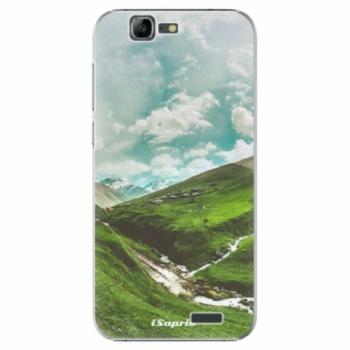Plastové pouzdro iSaprio - Green Valley - Huawei Ascend G7
