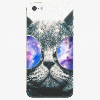 Plastový kryt iSaprio - Galaxy Cat - iPhone 5/5S/SE