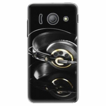 Plastové pouzdro iSaprio - Headphones 02 - Huawei Ascend Y300