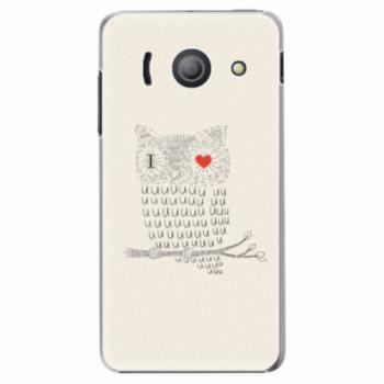 Plastové pouzdro iSaprio - I Love You 01 - Huawei Ascend Y300
