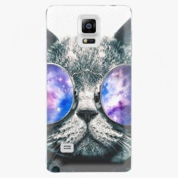 Plastový kryt iSaprio - Galaxy Cat - Samsung Galaxy Note 4