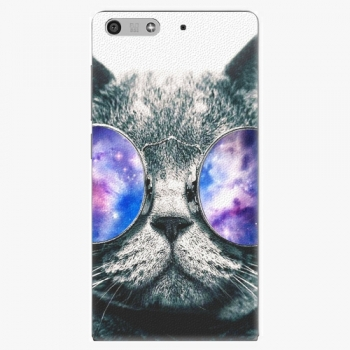 Plastový kryt iSaprio - Galaxy Cat - Huawei Ascend P7 Mini