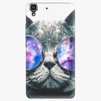 Plastový kryt iSaprio - Galaxy Cat - Huawei Ascend Y6