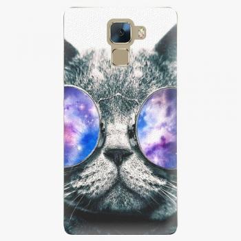 Plastový kryt iSaprio - Galaxy Cat - Huawei Honor 7