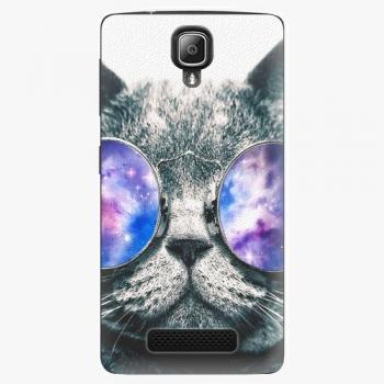 Plastový kryt iSaprio - Galaxy Cat - Lenovo A1000