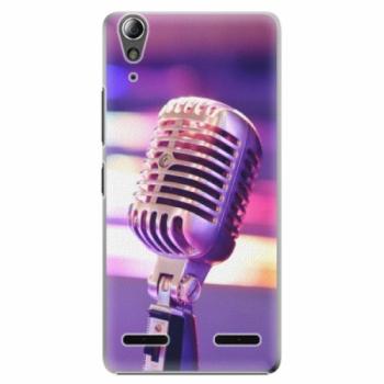 Plastové pouzdro iSaprio - Vintage Microphone - Lenovo A6000 / K3