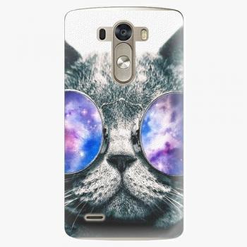 Plastový kryt iSaprio - Galaxy Cat - LG G3 (D855)