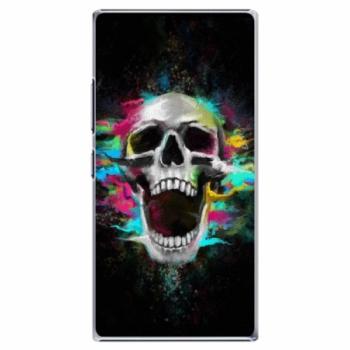 Plastové pouzdro iSaprio - Skull in Colors - Lenovo P70