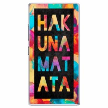 Plastové pouzdro iSaprio - Hakuna Matata 01 - Lenovo P70