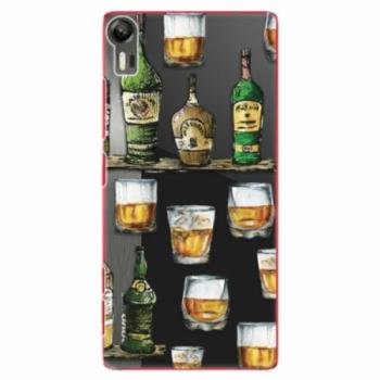 Plastové pouzdro iSaprio - Whisky pattern - Lenovo Vibe Shot