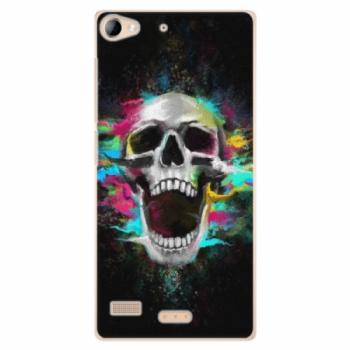 Plastové pouzdro iSaprio - Skull in Colors - Sony Xperia Z2