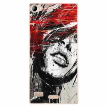 Plastové pouzdro iSaprio - Sketch Face - Sony Xperia Z2