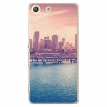 Plastové pouzdro iSaprio - Morning in a City - Sony Xperia M5