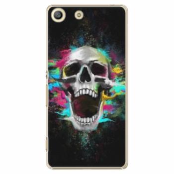 Plastové pouzdro iSaprio - Skull in Colors - Sony Xperia M5