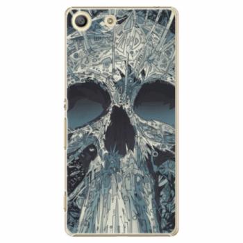Plastové pouzdro iSaprio - Abstract Skull - Sony Xperia M5