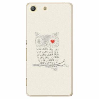Plastové pouzdro iSaprio - I Love You 01 - Sony Xperia M5