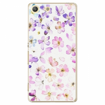 Plastové pouzdro iSaprio - Wildflowers - Sony Xperia M5