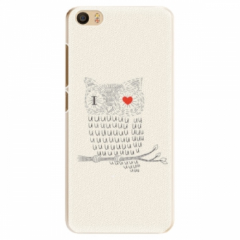 Plastové pouzdro iSaprio - I Love You 01 - Xiaomi Mi5