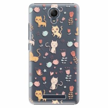 Plastové pouzdro iSaprio - Cat pattern 02 - Xiaomi Redmi Note 2