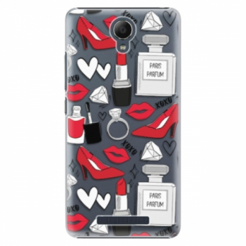Plastové pouzdro iSaprio - Fashion pattern 03 - Xiaomi Redmi Note 2