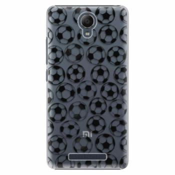 Plastové pouzdro iSaprio - Football pattern - black - Xiaomi Redmi Note 2