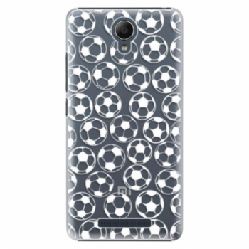 Plastové pouzdro iSaprio - Football pattern - white - Xiaomi Redmi Note 2
