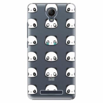 Plastové pouzdro iSaprio - Panda pattern 01 - Xiaomi Redmi Note 2