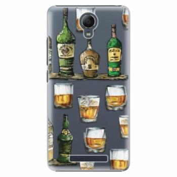 Plastové pouzdro iSaprio - Whisky pattern - Xiaomi Redmi Note 2
