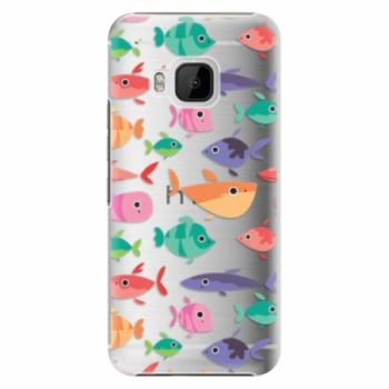 Plastové pouzdro iSaprio - Fish pattern 01 - HTC One M9