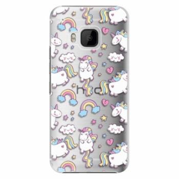 Plastové pouzdro iSaprio - Unicorn pattern 02 - HTC One M9