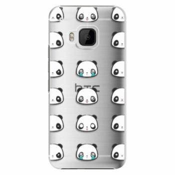 Plastové pouzdro iSaprio - Panda pattern 01 - HTC One M9